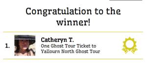 Congratulations Catheryn
