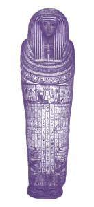 An Egyptian Mummy casing