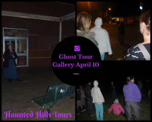 Ghost tour gallery April 10