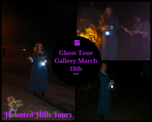 Ghost tour gallery March 13th