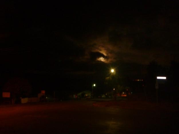 Cloudy Supermoon