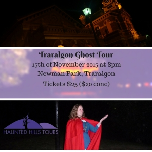 Traralgon Ghost Tour 15th Nov 2015