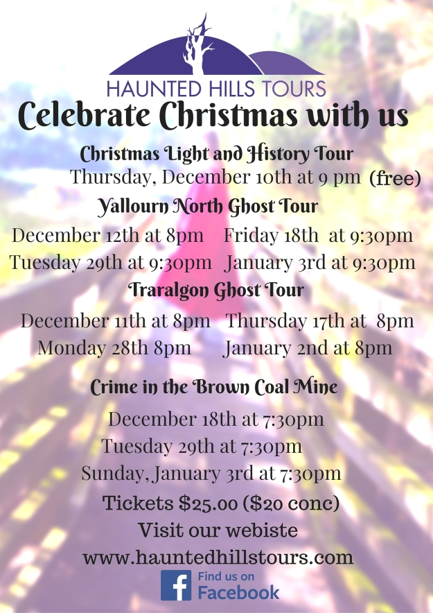 Celebrate Christmas with Haunted Hills Tours